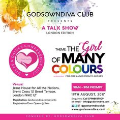L.O.N.D.O.N! We are coming  #CantKeepCalm #Repost @godsowndivaclub  It is with great joy super giddy happiness and hearts so full of thanksgiving to God Almighty (that it's about to burst) that we announce the Divas & Daises Conference (UK) 2017 coming up on the 19th of August at the Jesus House For All Nations Brent Terrace London Wooop Woop  If we scream it won't be enough. If we dance it won't be enough. If we shout it won't be enough because we are excited and amazed at what God has done…