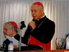 MINISTRO RODRÍGUEZ SE LAS CANTÓ CLARITO A LA IGLESIA CATÓLICA, O CORREN O SE ENCARAMAN