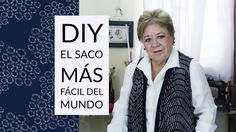 DIY - EL SACO MAS FÁCIL DEL MUNDO // THE WORLD'S EASIEST JACKET - YouTube