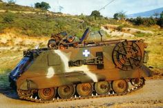 Greek Army M106A1 107mm mortar carrier