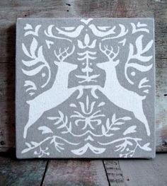 Bavarian Bucks Canvas Print