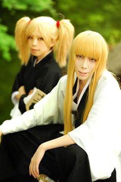 Tsukimaru (月丸) as Shinji Hirako and Hiyori Sarugaki cosplay