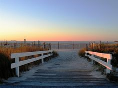 Cape May Beach at Sunset...