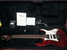 Ibanez Premium RG950QMZ | 9.8jt Ibanez, Music Instruments, Guitars, Musical Instruments, Guitar