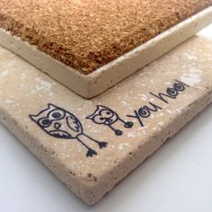 Natural-stone-owl-coasters-hand-stamped
