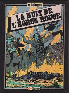 Victor Billetdoux -3- La nuit de l'Horus rouge de Wininger