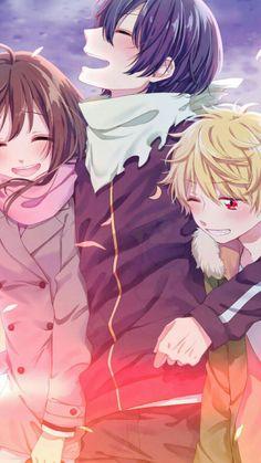 Hiyori, Yato & Yukine