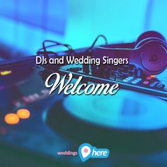 Be it as a DJ or wedding singer, a wedding is nothing without your good music. Increase your exposure and number of clients and sign up to WeddingsHere as a supplier! http://www.weddingshere.co.za/Register/ChooseType 2017 is your year!