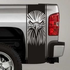 Eagle Truck Bed Stripe Decals