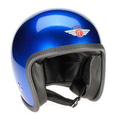 Davida Speedster Helmet - Blue Cosmic Candy FREE UK delivery - The Cafe Racer
