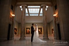 wedding at cleveland museum of art