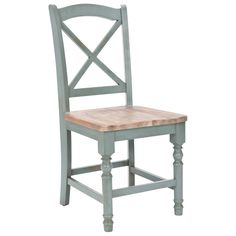 Janis Pale Blue Dining Side Chair Set of 2