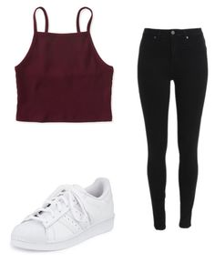 """Untitled #7"" by gabbyfuentes2001 on Polyvore featuring Aéropostale and adidas"