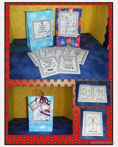 English Winter Mini Guided Reading Books - Doodles and Kreations - TeachersPayTeachers.com