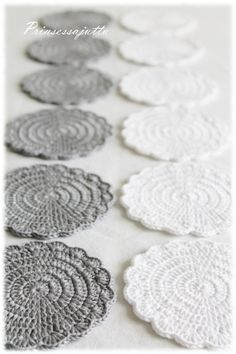 Crochet Crafts, Crochet Doilies, Crotchet, Knit Crochet, Handmade Crafts, Diy And Crafts, Crochet Fashion, Diy Projects To Try, Crocheting