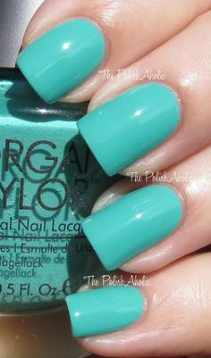 The PolishAholic: Morgan Taylor Swatches - Lost in Paradise