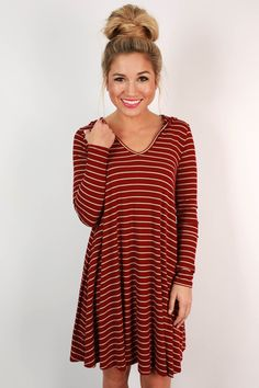 Turn heads and break hearts in this darling t-shirt dress!