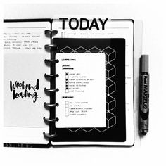 Minimalist Bullet Journals #dry#erase #hacks