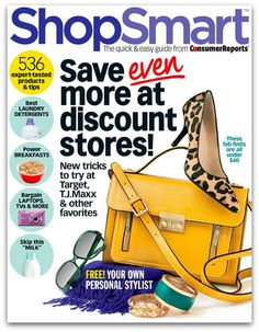 ShopSmart magazine subscription for $14.96 per year - Money Saving Mom®