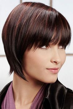 Straight Hairstyles for Short Hair: