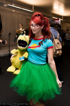 chuckie finster and reptar rugrats nycc 2015 nickelodeon rule63