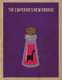Periodic Table of Rock and Roll (Rock N' Roll) Novelty Music History Print (Unframed Poster) Emperor's New Groove -Minimalist Movie Poster by April Morales, via BehanceEmperor's New Groove -Minimalist Movie Poster by April Morales, via Behance Disney Movie Posters, Movie Poster Art, Poster S, Emperor's New Groove, Minimal Movie Posters, Minimal Poster, Cool Posters, Disney And Dreamworks, Disney Pixar
