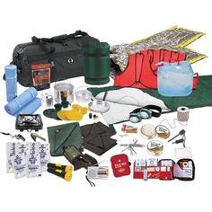 @Overstock - Stansport Family Emergency Preparedness Kit - Be prepared in the event of an emergency with this jam-packed kit by Stansport. Designed to support a family of four, this emergency preparedness kit includes first aid, sleeping bags, water, cooking supplies and much more.  http://www.overstock.com/Emergency-Preparedness/Stansport-Family-Emergency-Preparedness-Kit/8926925/product.html?CID=214117 $280.57