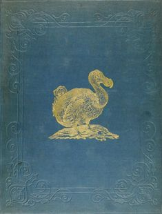 GILDED - Dodo on a 19th c. bookcover