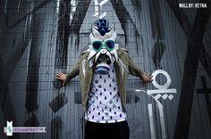 5 Air Jordan V Grape Gas Mask by Freehand Profit