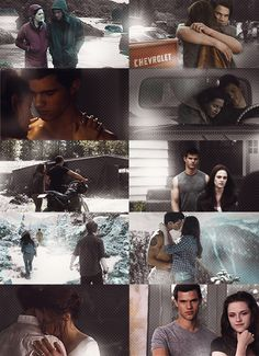 photo stills of Bella Swan with Jacob Black......it never ended in BD for these two - SM got that wrong