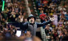 Mark Hamill is amazed as he is introduced to thousands of fans at the Vivint Smart Home Arena, kicking off the 2016 Salt Lake Comic Con in Salt Lake City on Thursday, Sept. 1, 2016. (Steve Griffin | The Salt Lake Tribune)