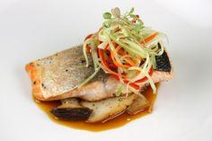 Atlantic Salmon with Citrus Soy Glaze