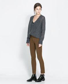 Image 1 of LEGGING STYLE TROUSERS from Zara
