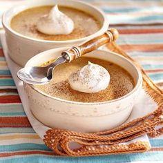 Baked Pumpkin Custard (reminds me of pumpkin pie but creamier!) http://www.eaglebrand.com/recipes/details/default.aspx?recipeID=6031