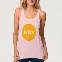 #women - #Nice Tank Top