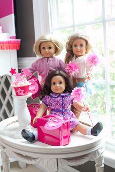 Cute American girl doll party ideas
