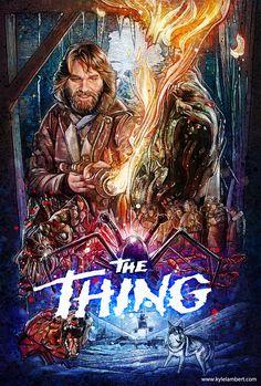 "kogaionon: ""The Thing by Kyle Lambert / Behance / Facebook / Twitter / Instagram / Store Part of Printed in Blood's upcoming The Thing: Artbook / Facebook / Twitter / Instagram. """