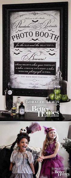 Loralee Lewis for Better Homes and Gardens Halloween Magazine.  Download all the FREE printables  at www.bhg.com/bewitching
