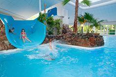Recreatiepark De Leistert - met indoor zwemparadijs - buitenzwembad - strandje