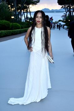 7365132877 See All the Looks from the 2015 Cannes amfAR Gala. Zoë Kravitz ...