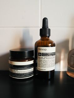 AESOP Lucent Facial Contrate  AESOP Parsley Seed Anti-OxidantFacial Hydrating Cream