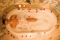 Rose Bath at Excelsior Resort ****S mountain l style l spa l resort a San Vigilio di Marebbe (BZ)