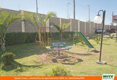 Playground do Spazio Urano em Uberlândia/MG. Condomínio fechado da MRV Engenharia.