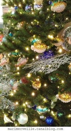 déco de Noël les fonds marins 2017 LBM 1- Marimerveille10