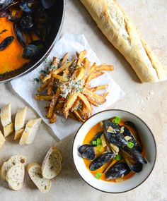 coconut curry mussels / howsweeteats.com
