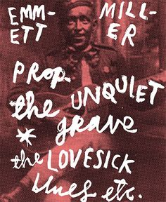 "Emmett Miller, Proprietor of ""The Unquiet Grave"", one of the fine retail establishments in Jonny Hannah's ""Darktown"""