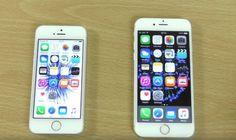 iPhone SE vs iPhone 5S si iPhone 6S - comparatia performantelor (Video)