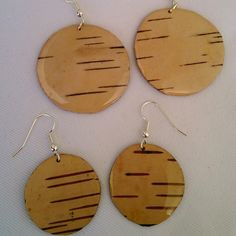 #whitebirch #earrings #OneEarth on #Facebook #naturalconnections #naturalsoul #buyauthentic