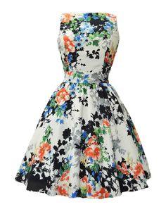 Lady V London Vintage Tea Dress