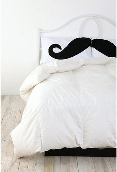 For the bed
